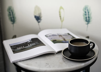 Tea and Magazine